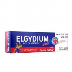 ELGYDIUM Kids Dentifrice Fraise Givrée 50ml