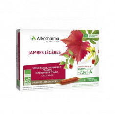 ARKOPHARMA Arkofluides Jambes Légères 20 ampoules