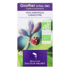HUILE ESSENTIELLE DE CLOU DE GIROFLIER DOCTEUR VALNET 5ML