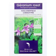 HUILE ESSENTIELLE DE GERANIUM ROSAT DOCTEUR VALNET 10ML