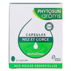 PHYTOSUN AROMS CAPSULES NEZ ET GORGE x 30