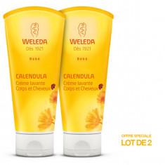 WELEDA BEBE Crème Lavnte Corps et Cheveux 2x200ml