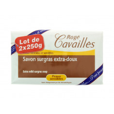 SAVON SURGRAS EXTRA DOUX ROGE CAVAILLES 2x250G