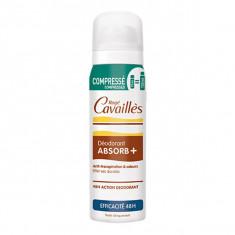 ROGE CAVAILLES Déodorant Absorb+ Anti-Transpirant 48h Spray Compressé 75ml