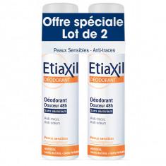 ETIAXIL Déodorant 48h Douceur Sans Aluminium 2x150ml