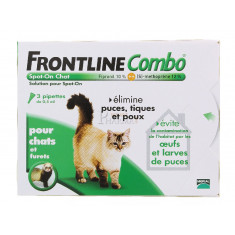 FRONTLINE COMBO SPOT-ON CHAT x 3