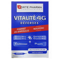 VITALITE 4G DEFENSES FORTE PHARMA AMPOULES