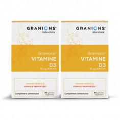 GRANIONS Vitamine D3 - 2x60 gélules