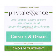 CHEVEUX & ONGLES PHYTALESSENCE 60 GELULES