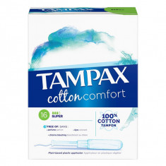TAMPAX Cotton Comfort Super x16 tampons