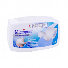 3M Micropore Sparadrap Blanc avec dévidoir 25mmx9,14m