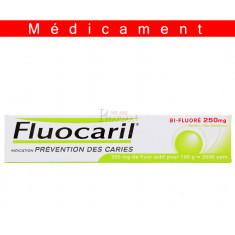 FLUOCARIL BIFLUORE 250 mg MENTHE, pâte dentifrice – 75ML