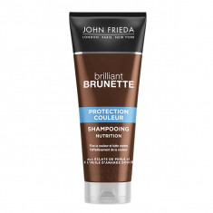 JOHN FRIEDA Brillant Brunette Shampooing Nutrition Protection Couleur 250ml