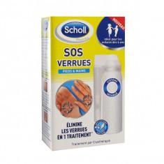 SCHOLL SOS Verrues Pieds & Mains 80 ml