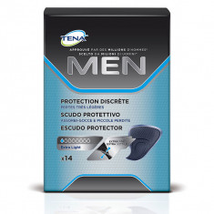 TENA Men Extra Light Protections pour hommes x14 serviettes