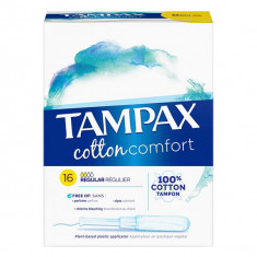 TAMPAX Cotton Comfort Regular x16 tampons