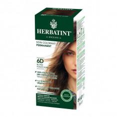 HERBATINT Soin Colorant Permanent Blond Foncé Doré 6D