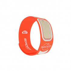 PARAKITO Sport Bracelet Anti-Moustique Orange