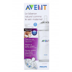 BIBERON AVENT NATURAL +3 mois 330ML