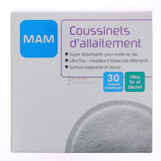 COUSSINETS D'ALLAITEMENT MAM x 30