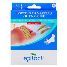 BARRETTES SOUS-DIAPHYSAIRES EPITACT A L'EPHITHELIUM