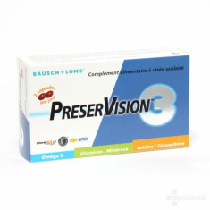 PRESRVISION 60 CAPSULES BAUSCH & LOMB