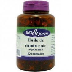 N&F200 Huile De Cumin Noir