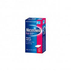 NICOTINELL FRUIT 2 mg SANS SUCRE, gomme à mâcher médicamenteuse – 24 gommes