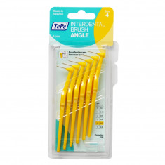 TEPE ANGLE BROSSETTES INTERDENTAIRES 0,7MM JAUNE